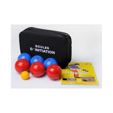 Jeu de 6 Boules souples initiation intérieur 65/200 - Pétanque Stock