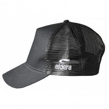 Casquette TRUCKER FILET Eldera Noir/Vert