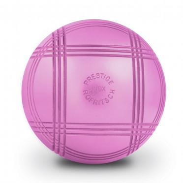 Boules LA BOULE BLEUE PRESTIGE INOX 110 ROSE Striées