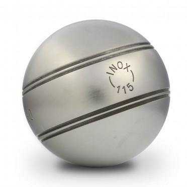 Boules LA BOULE BLEUE INOX 115 Striées