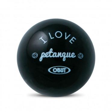 """But buis Obut Noir """"I Love Pétanque"""""""