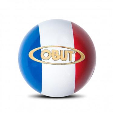 But buis Obut tricolore, bleu, blanc et rouge