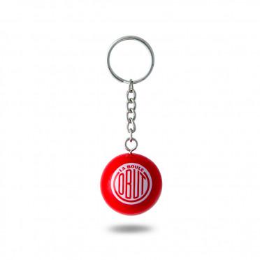 Porte-clé Obut Rouge Logo Vintage