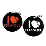 Exclusivité Porte Clés I Love Pétanque